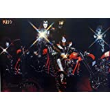 "P-2217 Kiss Band- Music Wall Decoration Poster#5 Size 21""x31""inch. Rare New - Image Print Photo"