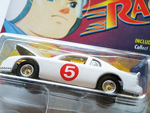 "Johnny Lightning Speed Racer 2000 ""Mach 5 Stock Car"" with Bonus Film Strip Token - 1"