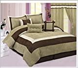 High Quality Soft Micro Suede Comforter Set Bedding-in-a-bag, Sage Green -  ....