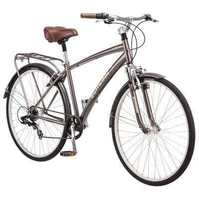 Schwinn Men'S Network 2.0 700C Hybrid Bicycle, Matte Sand