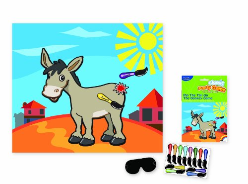Pin the Tail on The Donkey - 1
