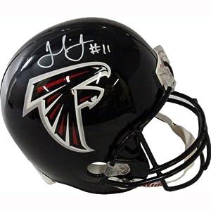NFL Atlanta Falcons Julio Jones Autographed Helmet by Steiner Sports