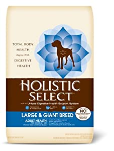 Holistic Select Large and Giant Breed Adult Chicken Meal, 30-Pound Bag