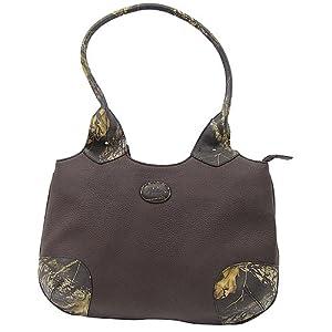 (新品)韦伯斯个性真皮女包Webers Woman Camo Leather Tote $74.17