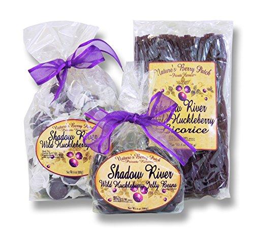 Shadow River Wild Huckleberry Candy Sampler (Licorice ...