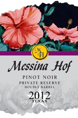 2012 Messina Hof Winery Pinot Noir Private Reserve 750 Ml
