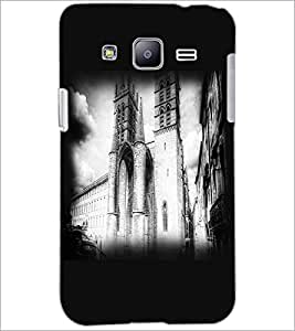 PrintDhaba Castle D-2248 Back Case Cover for SAMSUNG GALAXY J2 (Multi-Coloured)