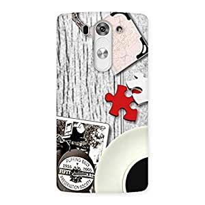 Gorgeous Vintage Multicolor Style Back Case Cover for LG G3 Beat