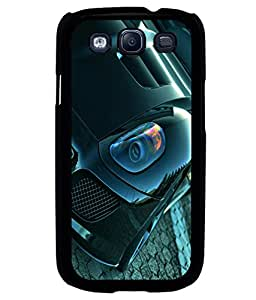 printtech Superfast Car Back Case Cover for Samsung Galaxy S3 Neo::Samsung Galaxy S3 Neo i9300i