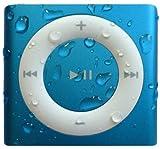 Underwater Audio Waterproof iPod Swimbuds Bundle (Blue)