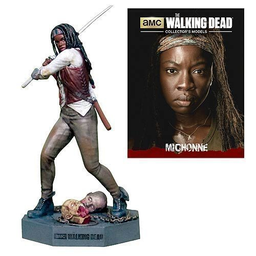 The Walking Dead Michonne Figure with Collector Magazine #3 by Walking Dead
