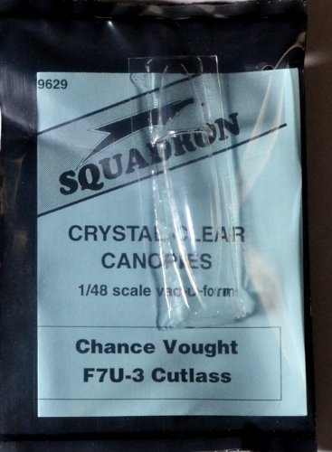 Squadron Products F7U-3 Cutlass Vacuform Canopy