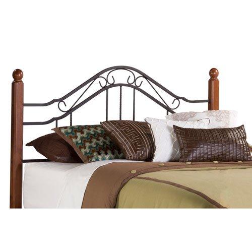 Hillsdale Furniture 1010HK Madison Headboard, King, Textured Black