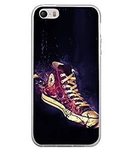 Glowing Shoe 2D Hard Polycarbonate Designer Back Case Cover for Apple iPhone 4