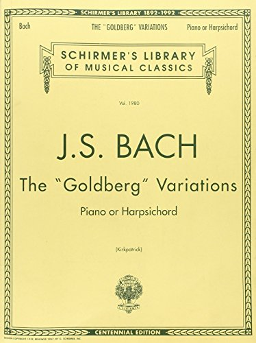 Goldberg Variations (Schirmer's Library of Musical Classics)