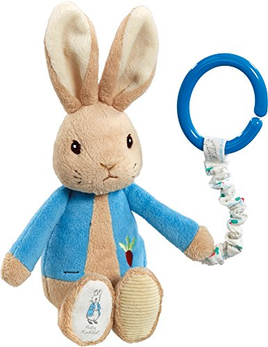 NEW Beatrix Potter - Peter Rabbit Attachable Pram / Cot Toy - 1