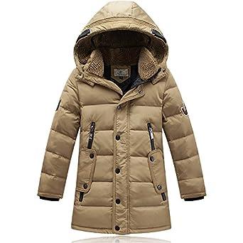 Amazon.com: Roseate Big Boys' Winter Down Dress Coats