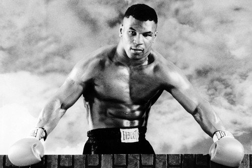 Mike Tyson Barechested Boxing Pose 24x36 Poster брюки tyson triton брюки