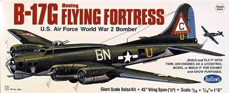 Maquette en bois - B-17 Flying Fortress