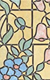 bunte Fensterfolie Nizza - Glasdekorfolie Bleiglas Look selbstklebend adhesive 0,45m x 2,00 m