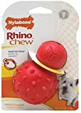 Nylabone Rhino Cone Dog Chew Toy, Regular