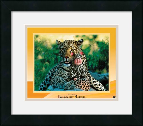 Imaginary Safari - Leopard By Tom Arma Framed front-901152