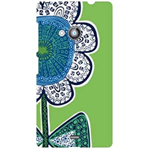Printland Nokia Lumia 535 Back Cover High Quality Designer Case