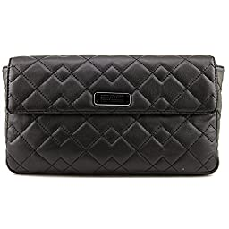 Marc by Marc Jacobs Crosby Quilt Leather Jemma Envelope Clutch, Black, One Size