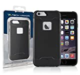 Tech Armor Active Sport Series Case for Apple iPhone 6 Plus/6s Plus (Black)