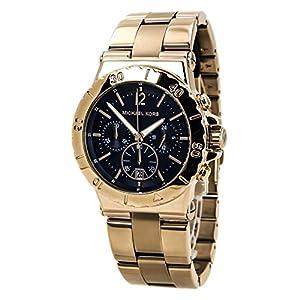 Michael Kors Damen-Armbanduhr Chronograph Quarz Edelstahl beschichtet MK5410