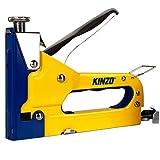 Kinzo 871125279439 Ensemble 3 en 1 agrafeuse et agrafes Jaune...