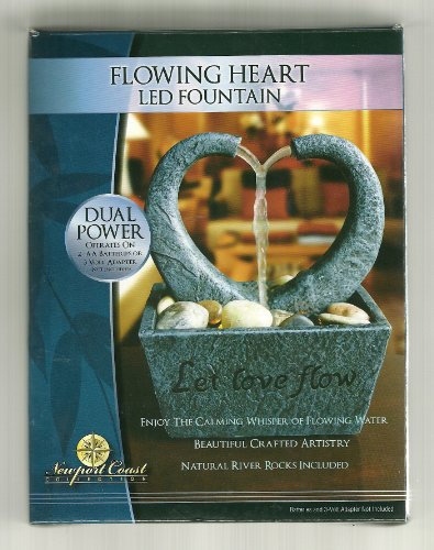 Flowing Heart - LED Fountain