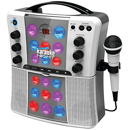 Cheapest Prices! Karaoke Night KN200 CD+G Karaoke System With LED Light Show