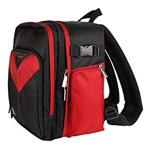 MyVangoddy Fujifilm FinePix HS35 EXR Red Sparta Collection SLR Camera Backpack available at Amazon for Rs.7793