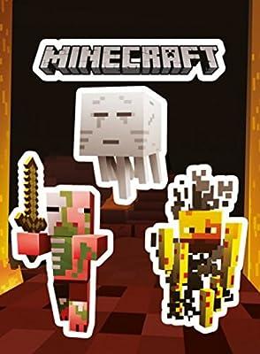 Minecraft Sticker Set - Monsters (6 x 4 inches)