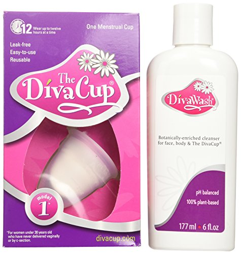 Diva Cup Model 1, and Divawash (Lunette Model 1 compare prices)
