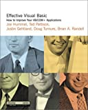 img - for Effective Visual Basic: How to Improve Your VB/COM+ Applications by Hummel Joe Pattison Ted Gehtland Justin Turnure Doug Randell Brian A. (2001-01-15) Paperback book / textbook / text book