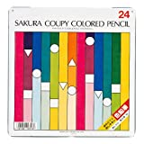 サクラクレパス クーピー色鉛筆 24色 PFY24