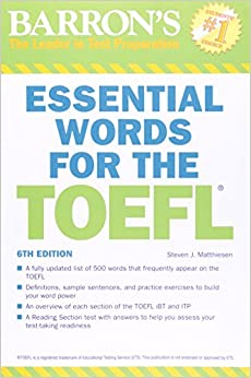 Help for writing toefl ibt barrons pdf