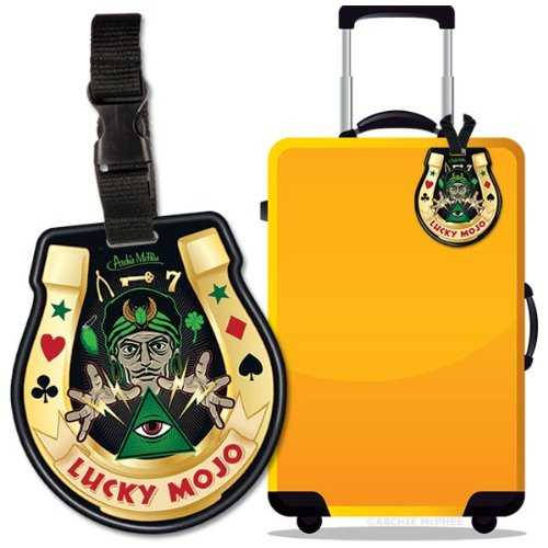Accoutrements Lucky Mojo Luggage Tag