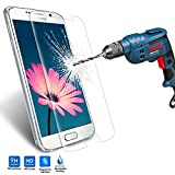 Galaxy S6 Screen Protector in Stock, Kollea [Tempered Protection] Premium Ballistic Nano Tempered Glass Screen Protector Scratch Free Ultra Slim Guard for Samsung Galaxy S6 2015 Version