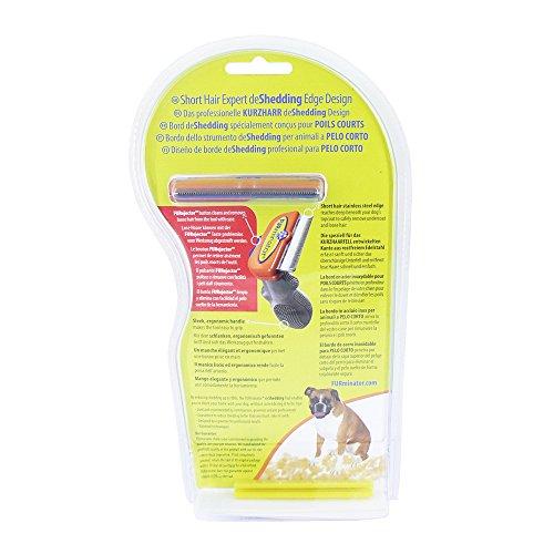 FURminator - Spazzola per la muta del pelo, per cani grandi a pelo corto