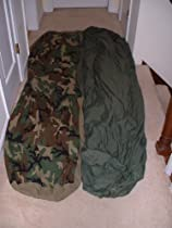 US MILITARY 2PIECE MODULAR COMPRESSION SLEEPING BAG SYSTEM