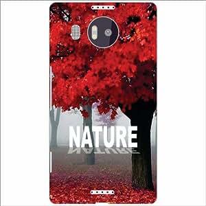 Microsoft Lumia 950 XL Back Cover - Nature Of Love Designer Cases