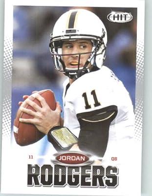 2013 Sage Hit Football Card #31 Jordan Rodgers / Vanderbilt - Jacksonville Jaguars (RC - Rookie Card) NFL Trading Cards
