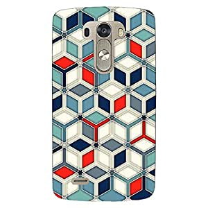 Jugaaduu Wild Hexagon Pattern Back Cover Case For Lg G3 D855