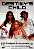 Destiny 's Child-2001-Póster de concierto-Tour-Póster de