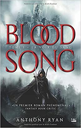 Blood Song T1 - La Voix du sang