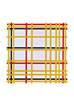 Especial Arte Lienzo York City I - Mondrian Piet Multicolor