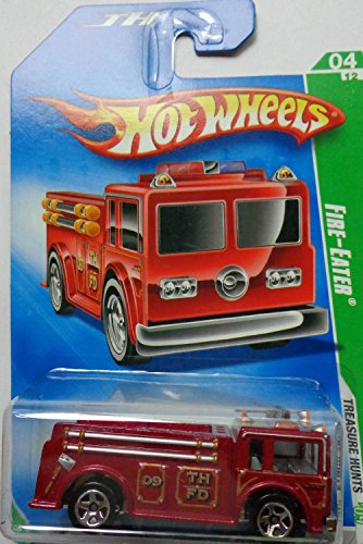 2009 Hot Wheels Treasure Hunt (4/12) - Fire Eater